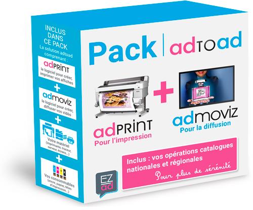 la solution complète pour l'affichage print et vidéo