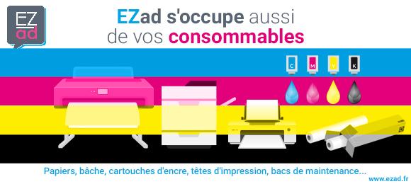 EZad c'est aussi des consommables