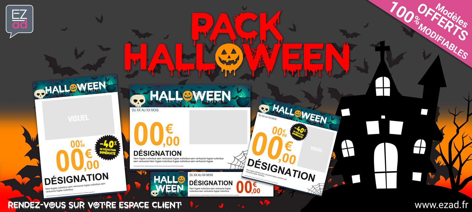 Modèles d'affiches pour Halloween