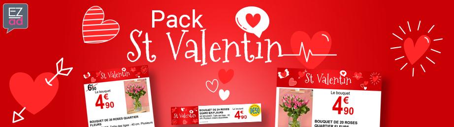 Modèles d'affiches pour la St Valentin